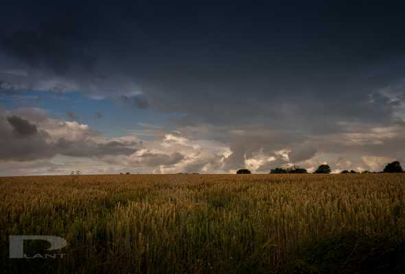 Stormy skies over Ilton & Taunton area for compositing