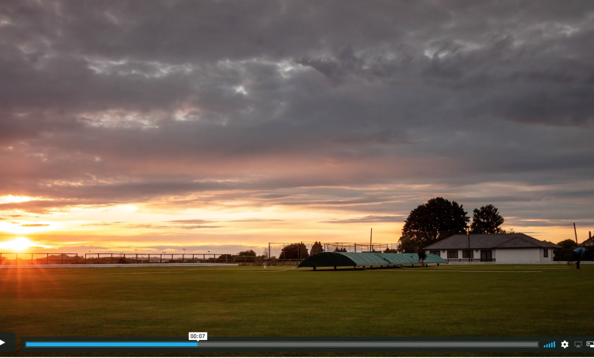 Somerset Uncovered. Village Cricket Time-Lapse Video